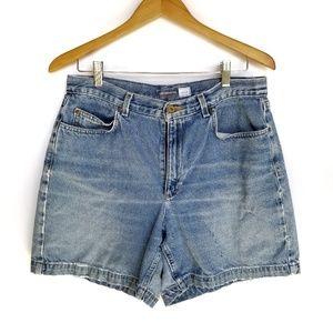 Vintage Loz Claiborne High Rise Denim Mon Shorts